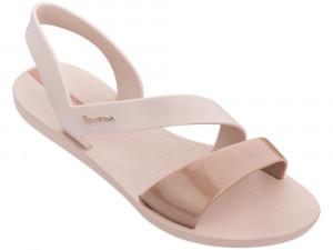 Ipanema pudrové sandály Vibe Sandal Pink/Pink Metallic -