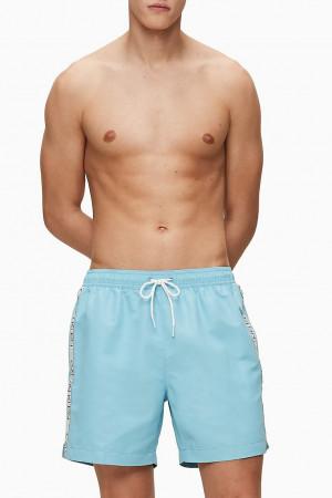 Calvin Klein modré pánské plavky Medium Drawsting