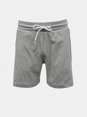 Calvin Klein šedé teplákové pánské kraťasy Short Jersey