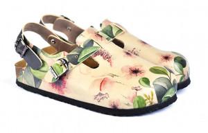 Calceo sandály Classic Sandal Flowers -