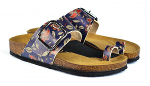 Calceo modré pantofle Thong Sandals Navy -