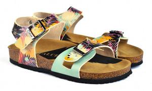 Calceo barevné sandály Classic Sandals Tropical -