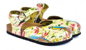 Calceo barevné sandály Classic Sandals Parrot -