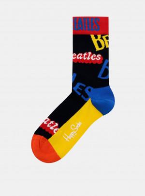 Žluto-černé ponožky Happy Socks Beatles In The Name Of Sock - 41-46