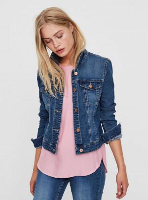 Modrá džínová bunda Noisy May Debra