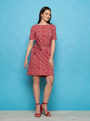 Tranquillo červené šaty Enu
