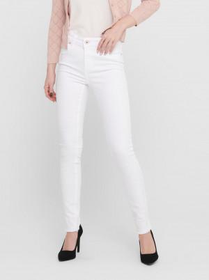 Bílé skinny fit džíny ONLY Blush