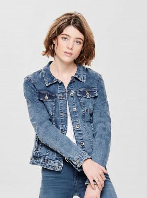 Modrá džínová bunda ONLY Tia