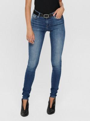Modré skinny fit džíny ONLY Shape Life
