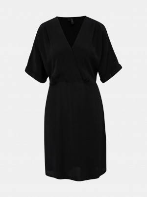 Černé šaty VERO MODA Mallison
