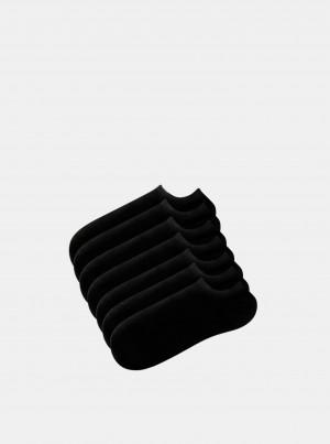 Sada sedmi párů černých ponožek TALLY WEiJL Blacky - ONE SIZE