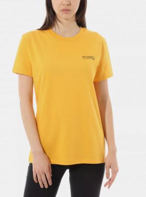 Hořčicové dámské tričko VANS