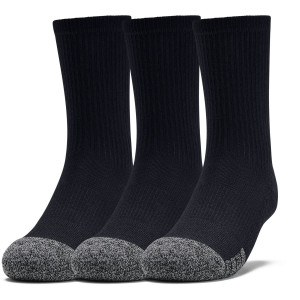 Ponožky Under Armour Youth Heatgear Crew-BLK