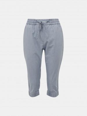 Světle modré 3/4 kalhoty VERO MODA Eva