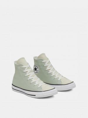 Světle zelené kotníkové tenisky Converse Chuck Taylor All Star -