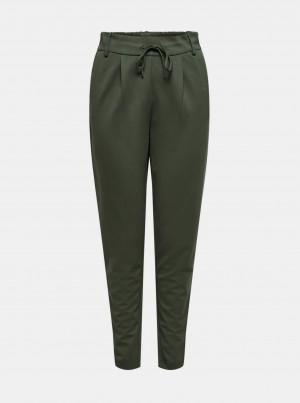 Zelené kalhoty ONLY Poptrash