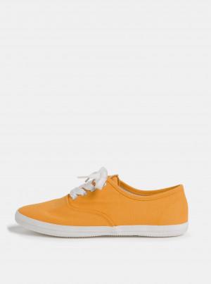 Tamaris žluté tenisky -