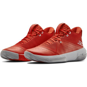 Boty Under Armour SC 3ZER0 IV-RED - 45.5