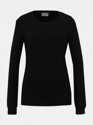 Černý basic svetr VILA Bolonia