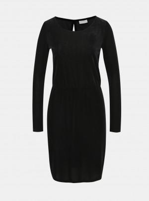 Černé manšestrové šaty VILA Biana