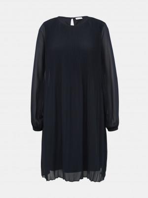 Tmavě modré šaty VILA Toni