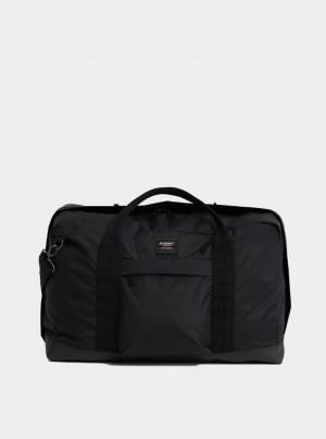 Černá cestovní taška Superdry