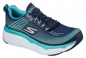 Skechers modré tenisky na platformě Max Cushioning Elite -