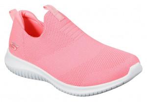 Skechers neonové růžové tenisky Ultra Flex Candy Craving -