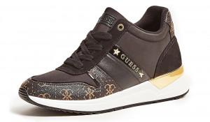 Guess černé tenisky Ravyn 4G Logo Running Shoe -