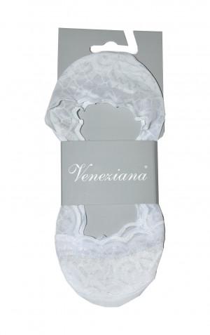 Dámské ponožky Veneziana Rombini Krajkové Béžový Univerzální