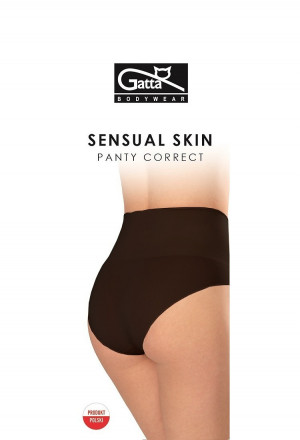 Dámské kalhotky 41662 Panty Correct Sensual - Gatta černá