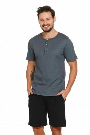 Pánské pyžamo Wilson šedé šedá