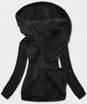 Černá dámská sportovní mikina (W03) Černá S (36)