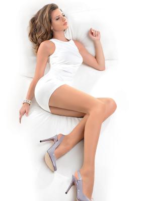 Punčochové kalhoty Dita 713 Matt Effect 15 DEN - Gabriella béžová 3