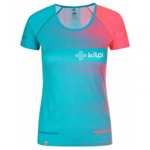 Dámské běžecké tričko Victori-w - Kilpi tyrkys-růžová M-38