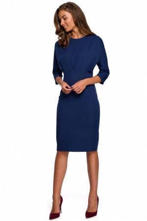 Dámské šaty S242 - Stylove navy blue S-36