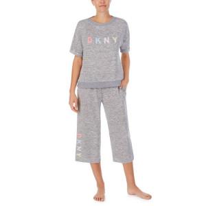 Dámský domácí set YI2922455 šedá - DKNY šedá