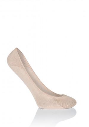 Dámské nízké ponožky Mona CS 10 Béžový Univerzální