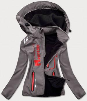 Dámská softshelová bunda v grafitovo-růžové barvě (HH030) grafit S (36)
