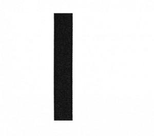 Julimex Ramínka RB 277 černá 14 mm Univerzální černá
