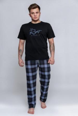 Sensis Victor Pánské pyžamo M černá