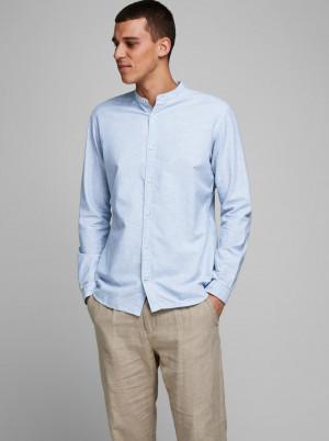 Jack & Jones světle modrá pánská košile Summer