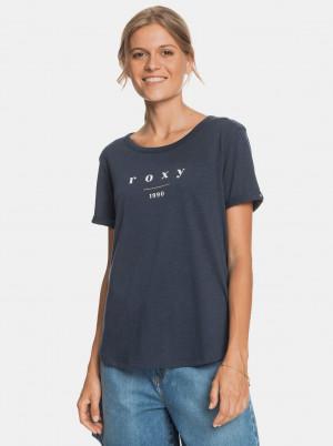 Roxy modré tričko s potiskem