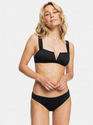 Roxy černé dvoudílné plavky