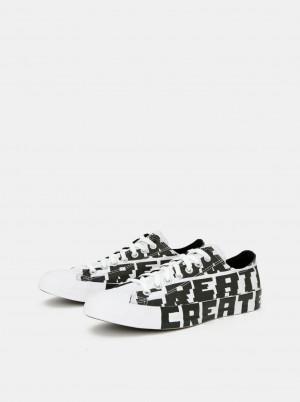 Černo-bílé pánské tenisky Converse -