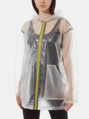Transparentní dámská pláštěnka VANS