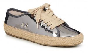 Emu Australia stříbrné tenisky Agonis Mirror Dark Silver -
