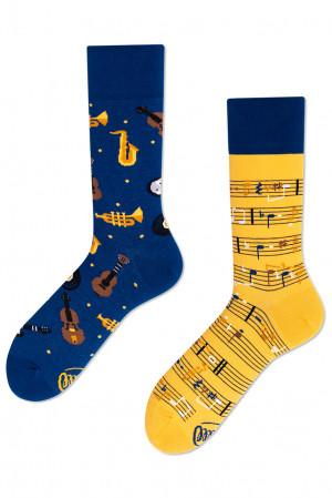 Many Mornings ponožky Music Notes - 35-38