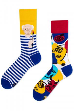 Many Mornings barevné ponožky Picassocks - 39-42