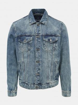 ONLY & SONS modrá džínová pánská bunda Coin